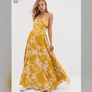 NWT Free People Lille Maxi Dress